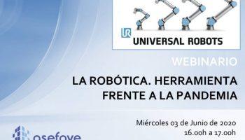 Webinar A robotica ferramenta de combate a pandemia
