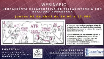 Webinar Ferramenta de Teleassistencia colaborativa com realidade aumentada