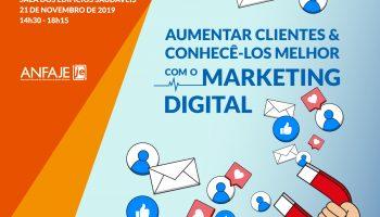 Workshop Aumentar Clientes Conhece-los melhor com o MKT Digital