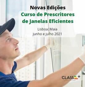 Curso Instaladores de Janelas Eficientes CLASSE+